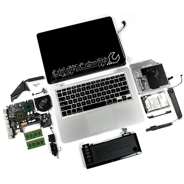 آشنایی با قطعات لپ تاپ
