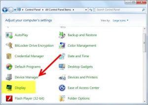 برعکس شدن تصویر لپ تاپ 1