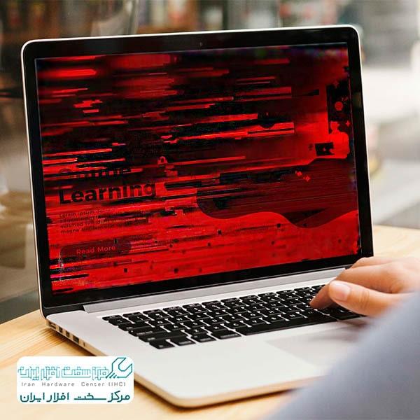 تغییر رنگ صفحه ی نمایش لپ تاپ