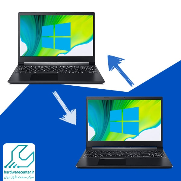 شبکه کردن دو لپ تاپ در ویندوز 10
